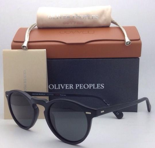 Oliver Peoples Polarized OLIVER PEOPLES Sunglasses GREGORY PECK 5217-S 1031/P2 Black Image 1