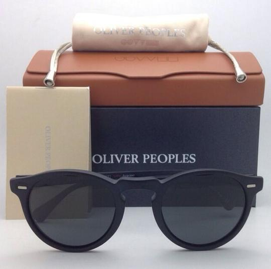 Oliver Peoples Polarized OLIVER PEOPLES Sunglasses GREGORY PECK 5217-S 1031/P2 Black Image 10