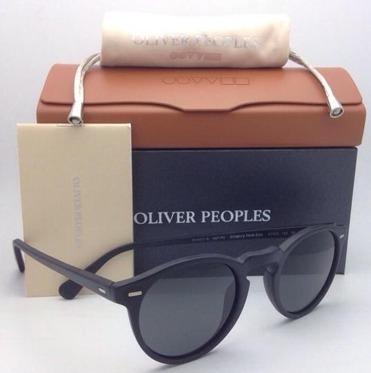 Oliver Peoples Polarized OLIVER PEOPLES Sunglasses GREGORY PECK 5217-S 1031/P2 Black Image 3