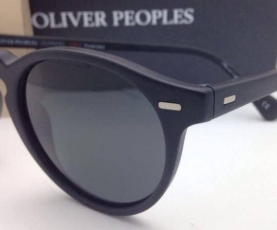 Oliver Peoples Polarized OLIVER PEOPLES Sunglasses GREGORY PECK 5217-S 1031/P2 Black Image 5