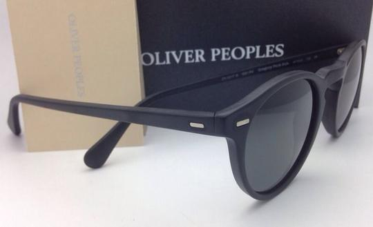 Oliver Peoples Polarized OLIVER PEOPLES Sunglasses GREGORY PECK 5217-S 1031/P2 Black Image 6
