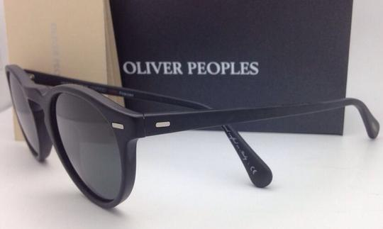 Oliver Peoples Polarized OLIVER PEOPLES Sunglasses GREGORY PECK 5217-S 1031/P2 Black Image 7