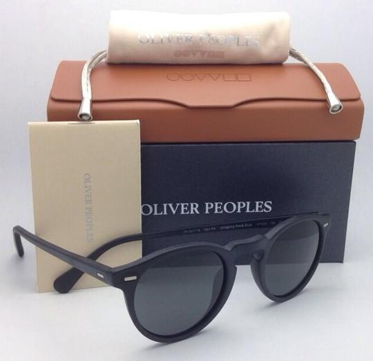 Oliver Peoples Polarized OLIVER PEOPLES Sunglasses GREGORY PECK 5217-S 1031/P2 Black Image 8