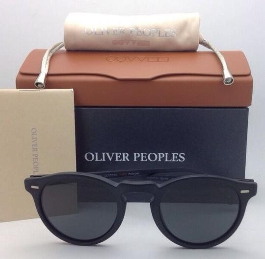 Oliver Peoples Polarized OLIVER PEOPLES Sunglasses GREGORY PECK 5217-S 1031/P2 Black Image 9