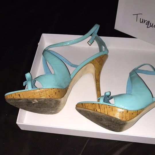 Dior Turquoise Pumps