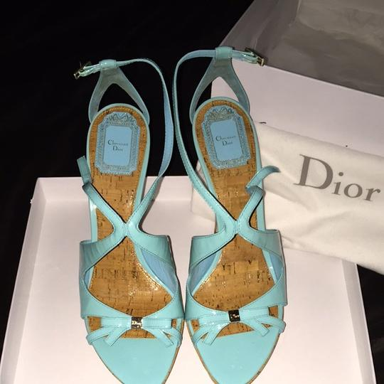 Dior Turquoise Pumps Image 2