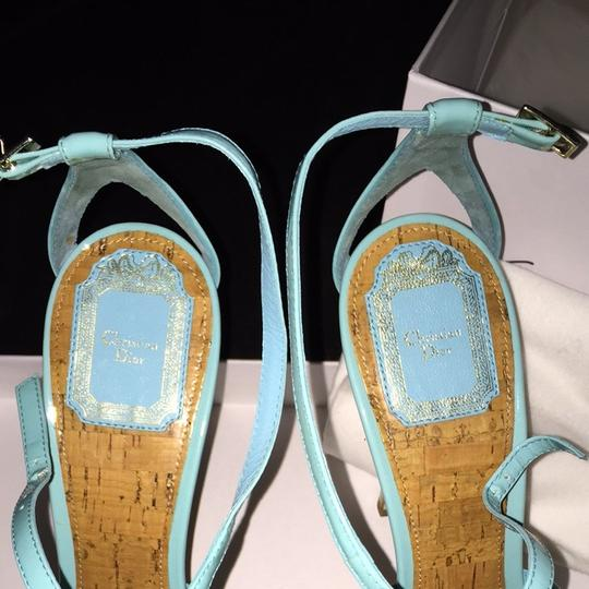 Dior Turquoise Pumps Image 3