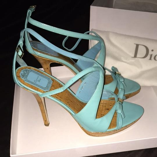 Dior Turquoise Pumps Image 4