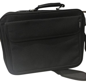 Everest New Black Everest laptop messenger bag. Front has a Velcro pocket. Back has a zipper and there are two slots to put your laptop. One for laptop and 2nd for notebook or important documents. Lightweight and perfect for work!