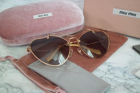 Miu Miu NEW Miu Miu SMU55R Scenique Cat Eye Sunglasses Image 2