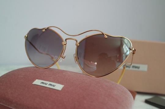 Miu Miu NEW Miu Miu SMU55R Scenique Cat Eye Sunglasses Image 3