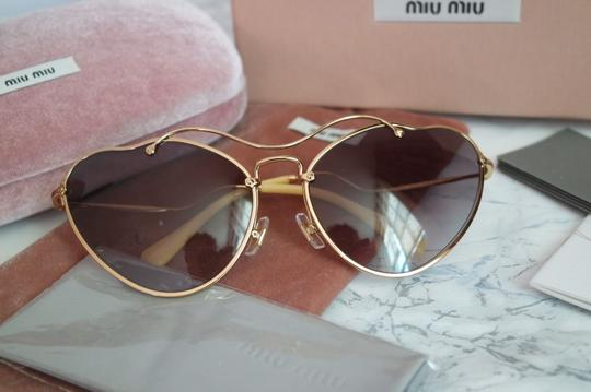 Miu Miu NEW Miu Miu SMU55R Scenique Cat Eye Sunglasses Image 5