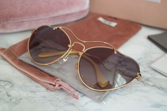Miu Miu NEW Miu Miu SMU55R Scenique Cat Eye Sunglasses Image 6