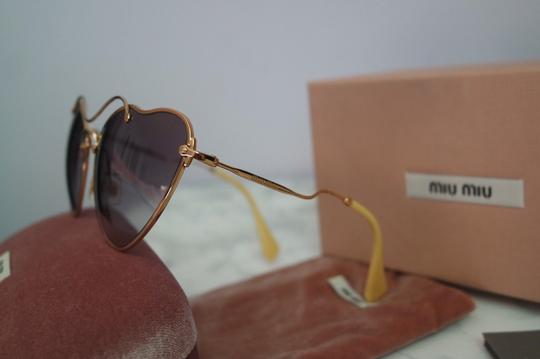 Miu Miu NEW Miu Miu SMU55R Scenique Cat Eye Sunglasses Image 7