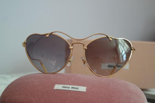 Miu Miu NEW Miu Miu SMU55R Scenique Cat Eye Sunglasses Image 8