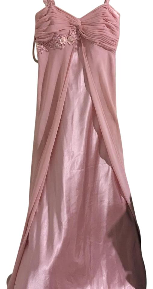 Adrianna Papell Light Pink Evening Gown Can Be Worn To A Ball Dance ...