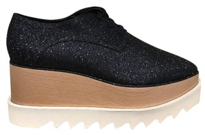Stella McCartney Elyse Hackney Stiletto Creeper blue Platforms