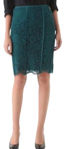 Tory Burch Skirt Teal