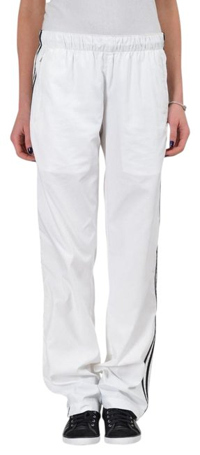 Hugo Boss White Women's Elastic Drawstring Waist Workout Pants Size 2 (XS, 26) Hugo Boss White Women's Elastic Drawstring Waist Workout Pants Size 2 (XS, 26) Image 1