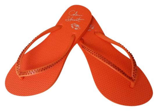 Colin Stuart orange Sandals