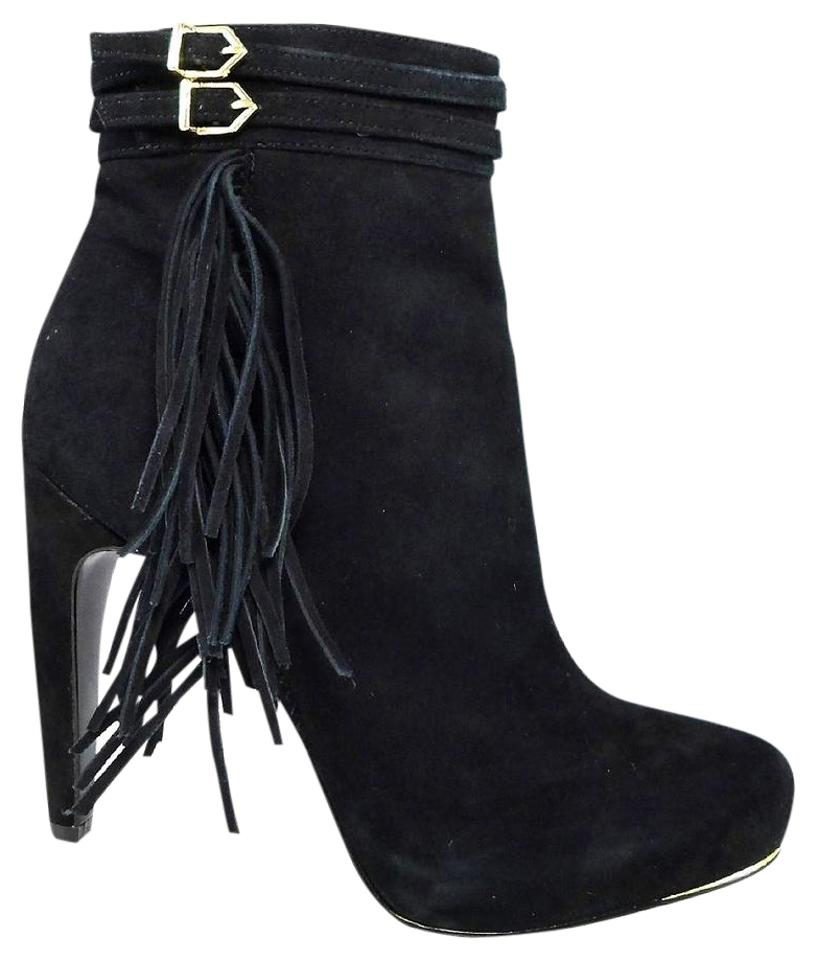 0f5f61109bb76 Sam Edelman Black Keegan Suede Ankle Boots Booties Size US 10 ...