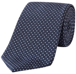 Hugo Boss BOSS Dot Silk Tie skinny