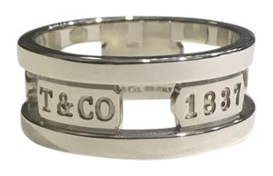 Tiffany & Co. Tiffany & Co. Sterling silver 1837 Elements Wide Band Ring