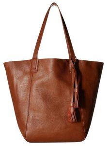 Lucky Brand Tote in Brown and Orange