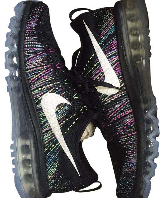 Item - Black and Multi Color Fly Knit Air Max Sneakers Size US Regular (M, B)