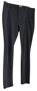 Mossimo Supply Co. Charcoal Skinny Stretch Skinny Pants Heather Grey