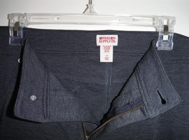 Mossimo Supply Co. Grey Charcoal Stretch Sz 17 Skinny Pants Heather Grey