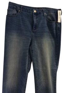 Chico's Relaxed Fit Jeans-Distressed