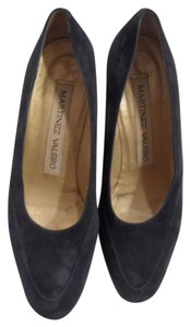 Martinez Valero Suede Navy blue Pumps