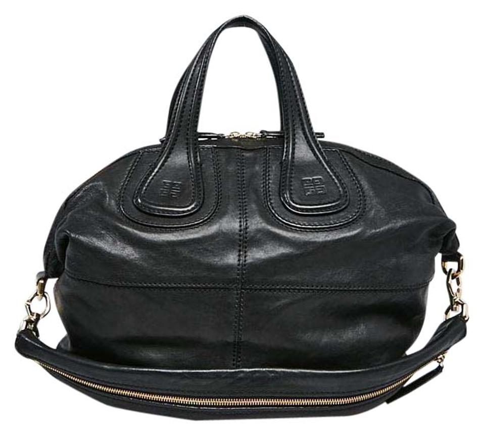 55dccc1f85e2 Givenchy Rare Medium Nightingale with Chain Handles Black Gold ...