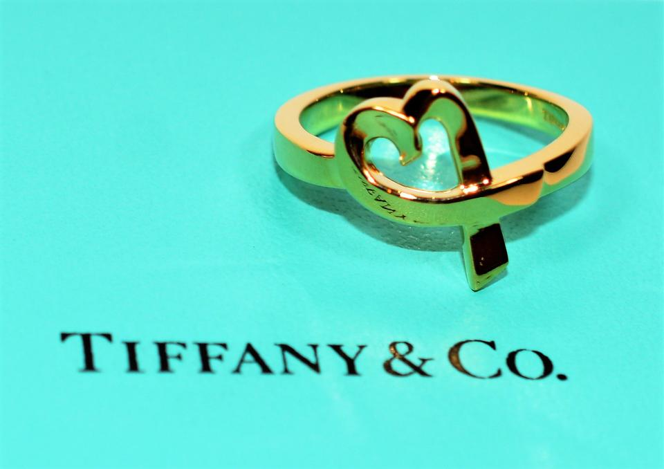 6db121b4ee272 Tiffany & Co. Gold Co Loving Heart Paloma Picasso 18k Yellow Ring 69% off  retail