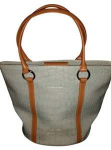 BCBGMAXAZRIA Leather Blue Tote Silver Summer Bcbg Tan Noe Speedy Neverfull Artsy Max Azria Winter Shoulder Bag