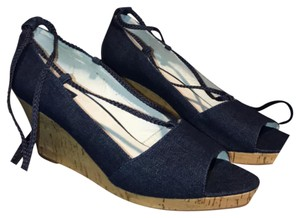 Dolce Vita Denim Blue Wedges