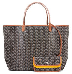 Goyard St Louis St Louis Gm Tote in Black