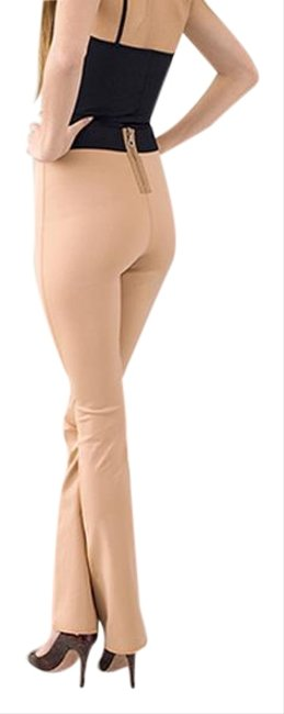 Pink - Toasted Almond 5 Pants Size 6 (S, 28) Pink - Toasted Almond 5 Pants Size 6 (S, 28) Image 1