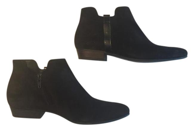 Item - Black Dillon Suede Retro Style Boots/Booties Size US 6.5 Regular (M, B)