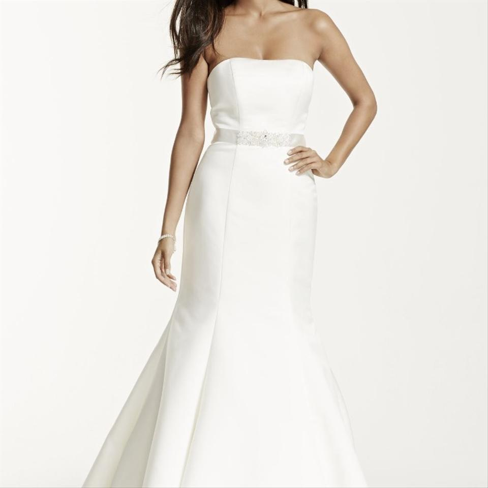 David 39 s bridal never worn only tried on wedding dress on for David bridal wedding dresses on sale