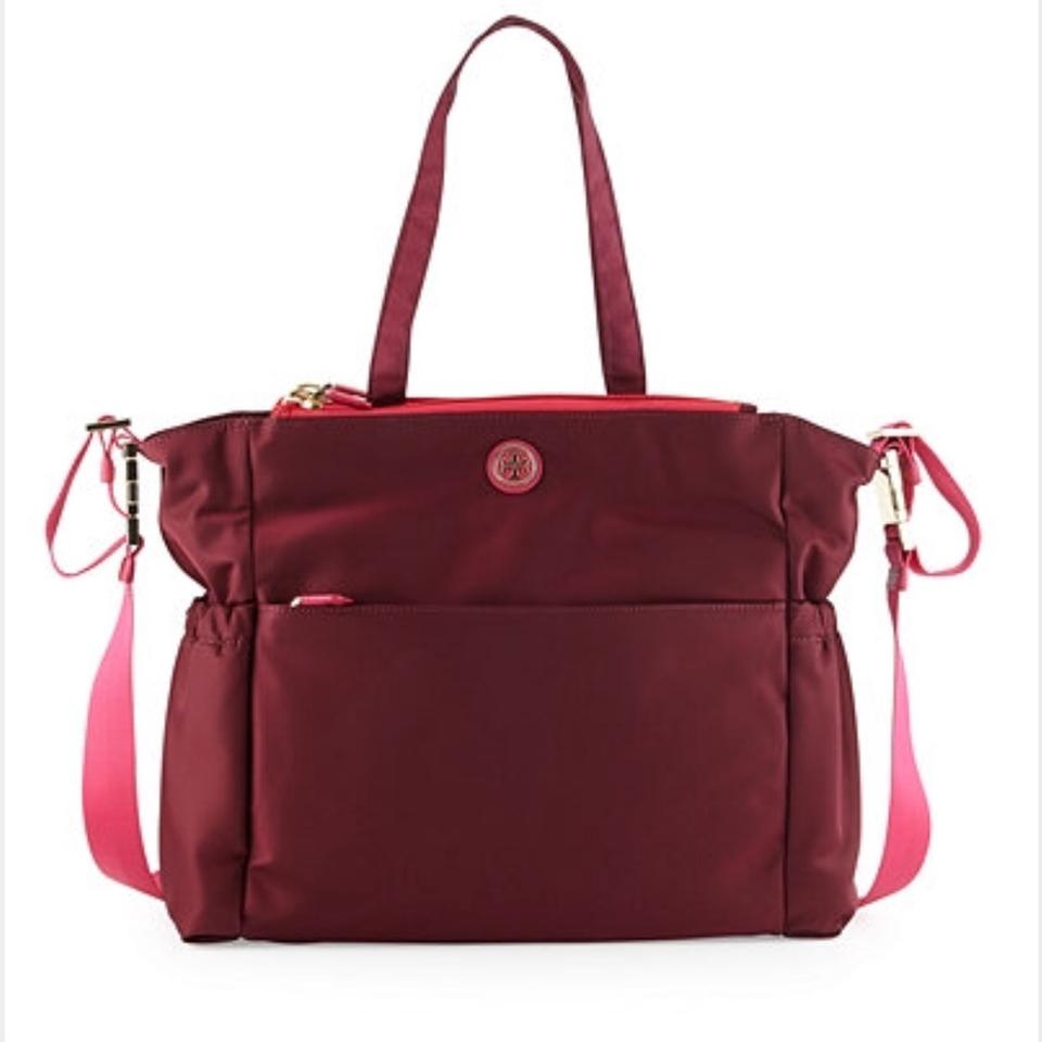 Tory Burch Red Diaper Bag 12345
