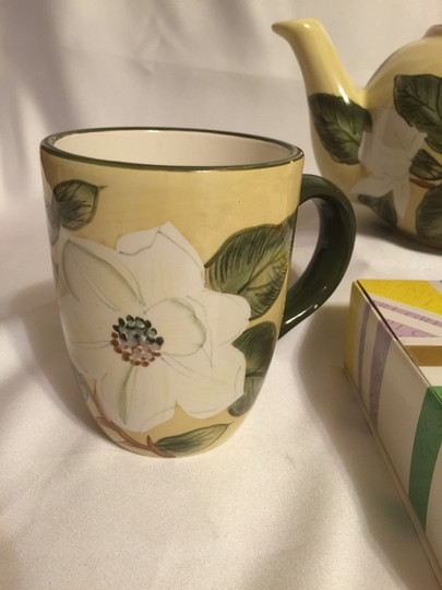 Other Magnolia Blossom Tea Set For 2 & Twinings 60-pc. Collection Fine Teas [ Roxanne Anjou Closet ]