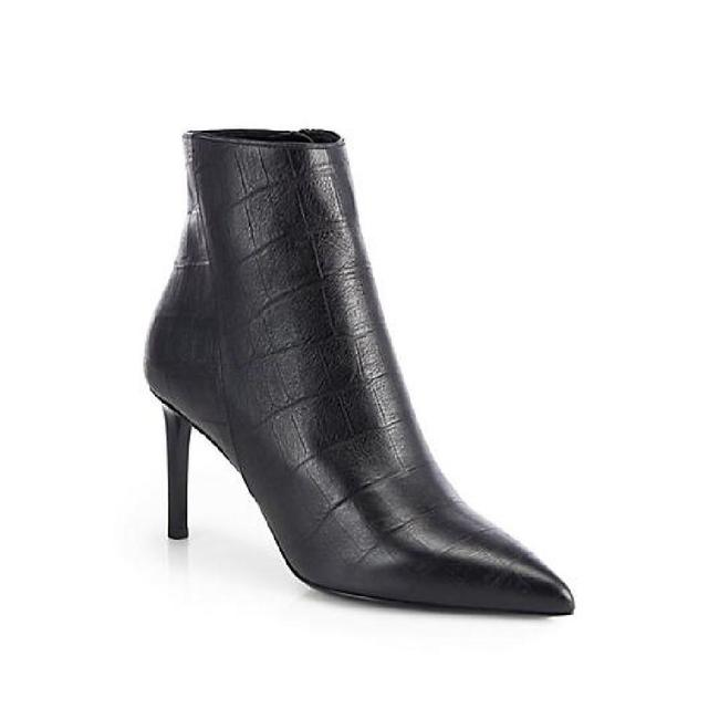 Item - new Paris Croc-embossed Leather Boots/Booties Size EU 39 (Approx. US 9) Regular (M, B)