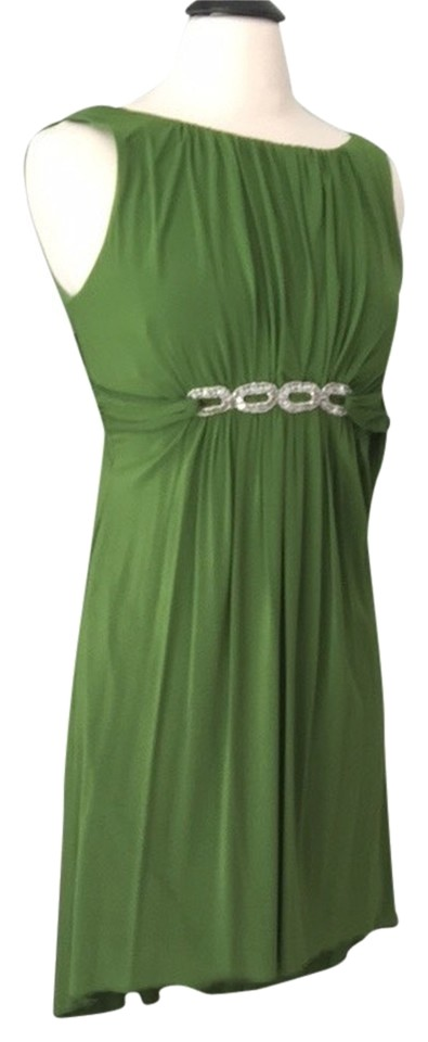 Laundry by Shelli Segal Emerald Green Cocktail Dress Size 4 (S ...