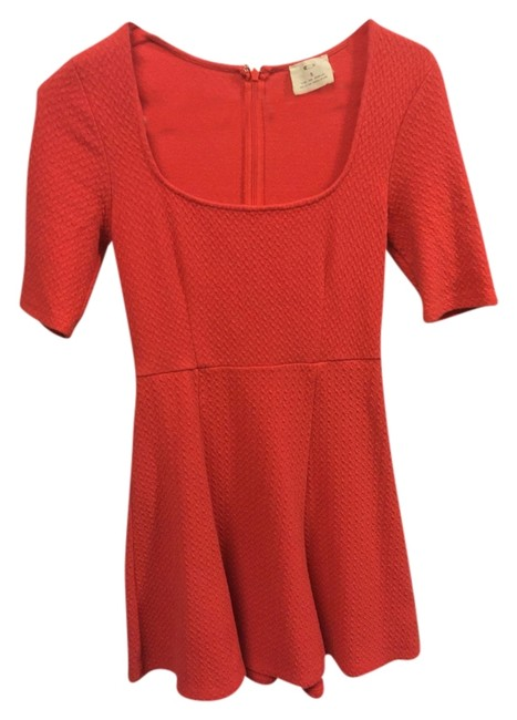 Preload https://item2.tradesy.com/images/pins-and-needles-coral-above-knee-short-casual-dress-size-4-s-2194386-0-0.jpg?width=400&height=650