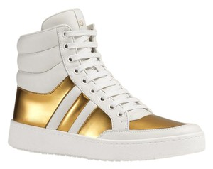 Gucci Sneaker 370504 White Gold Athletic