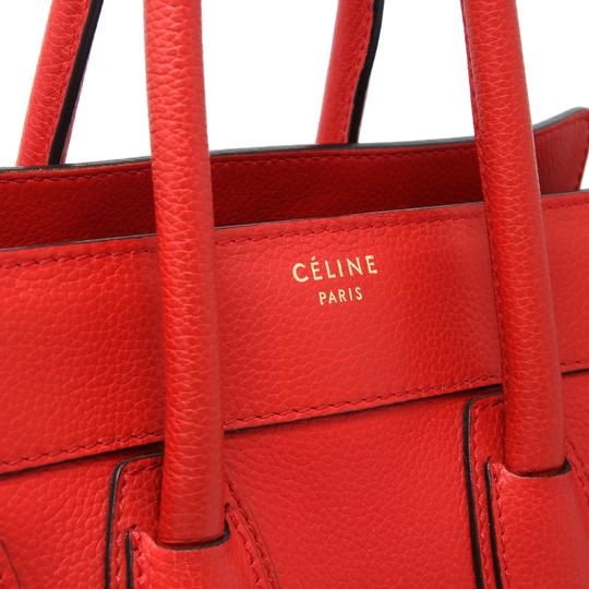 Céline Tri Color Chanel Quilted Jumbo Gm Satchel in Red Image 7