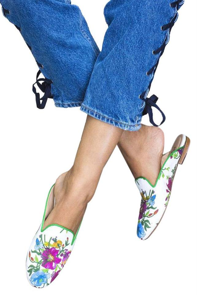Free People Multi Provence Floral Great Slippers - Provence Multi Mules/Slides 082a42