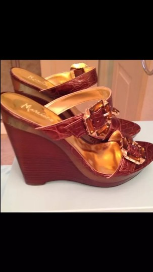 Marciano Brown Wedges